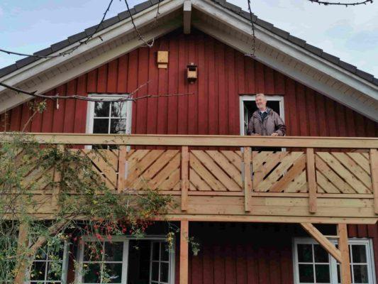 Balkon anbauen
